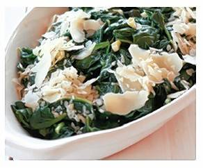 Quick Spinach Italiano