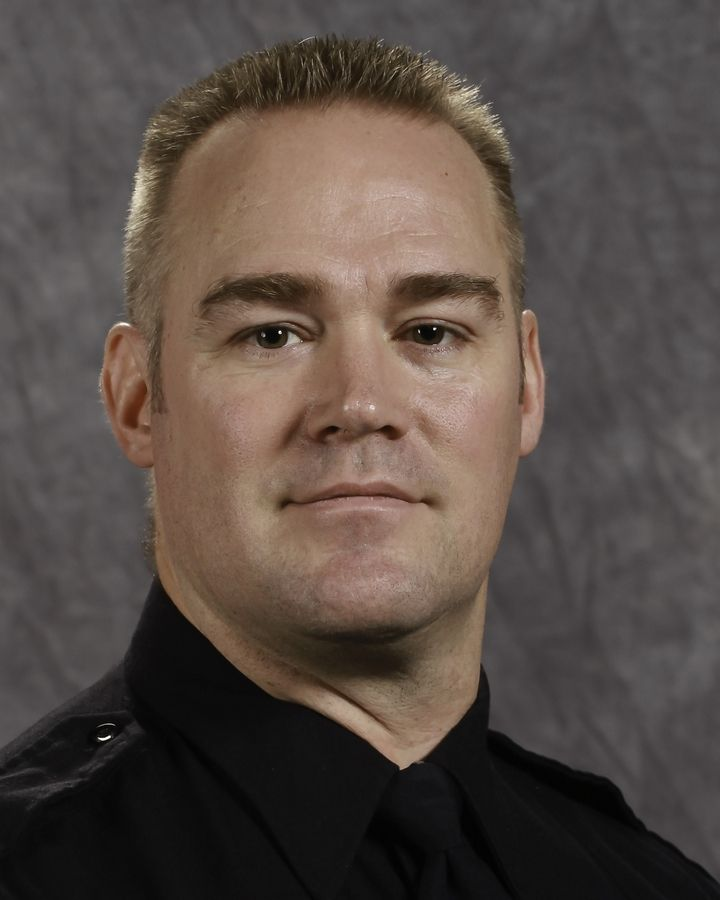 Elgin Police Sgt. Ken Ericson is in critical condition after a motorcycle crash Thursday in DeKalb County.