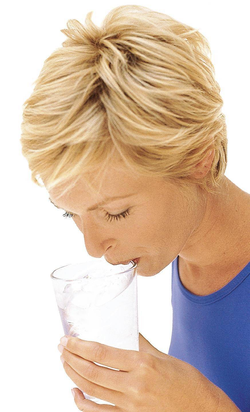 The best thing to drink is water.