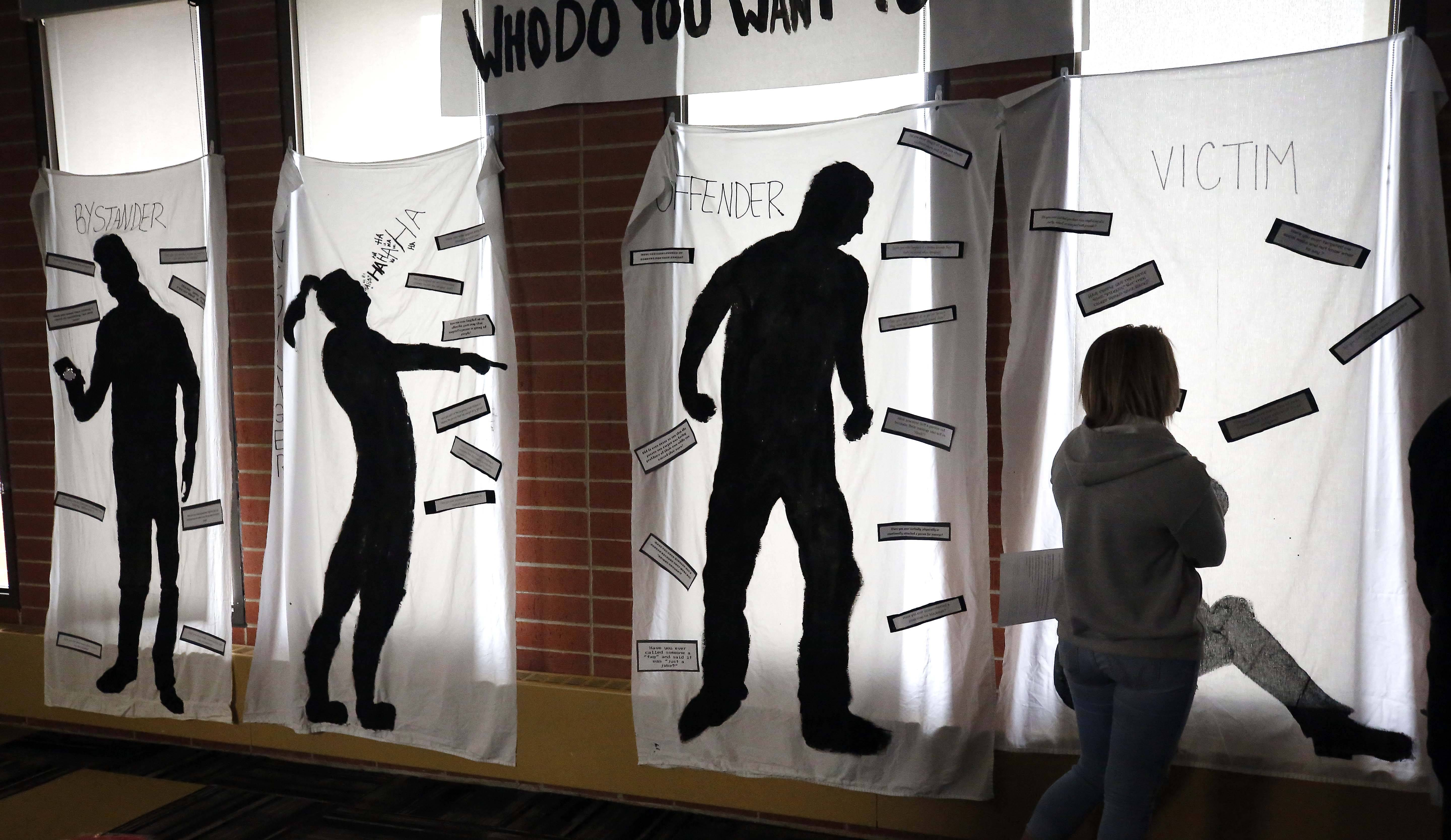 Streamwood High School students created a temporary museum for genocide awareness and prevention in conjunction with Genocide Awareness and Prevention Month.