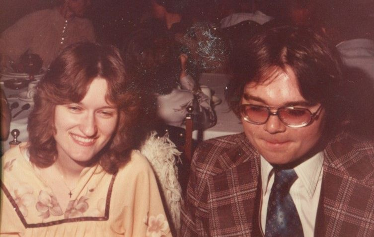 Janice and Joe Such at their wedding in 1979.