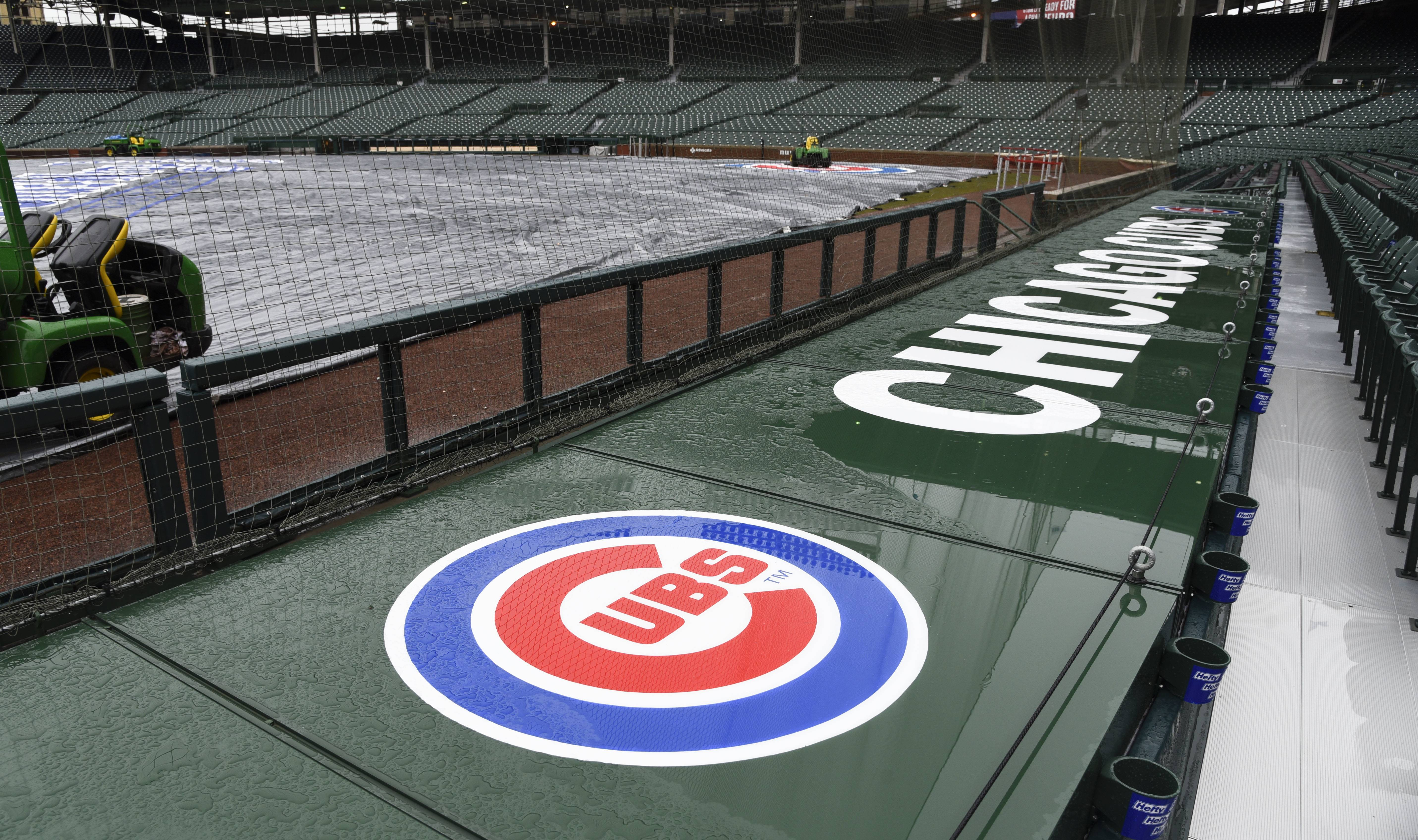 For the second day in a row, there won't be any baseball at Wrigley Field. Sunday's game between the Cubs and Atlanta was postponed, and now Monday's game against the Cardinals also was postponed due to cold weather.