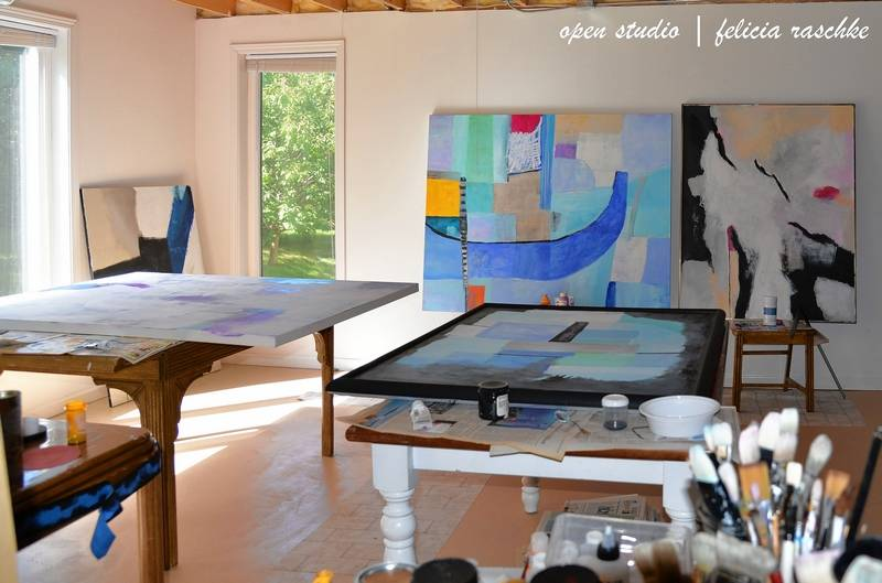 Visit the studio of artist felicia raschke on the fox river arts ramble