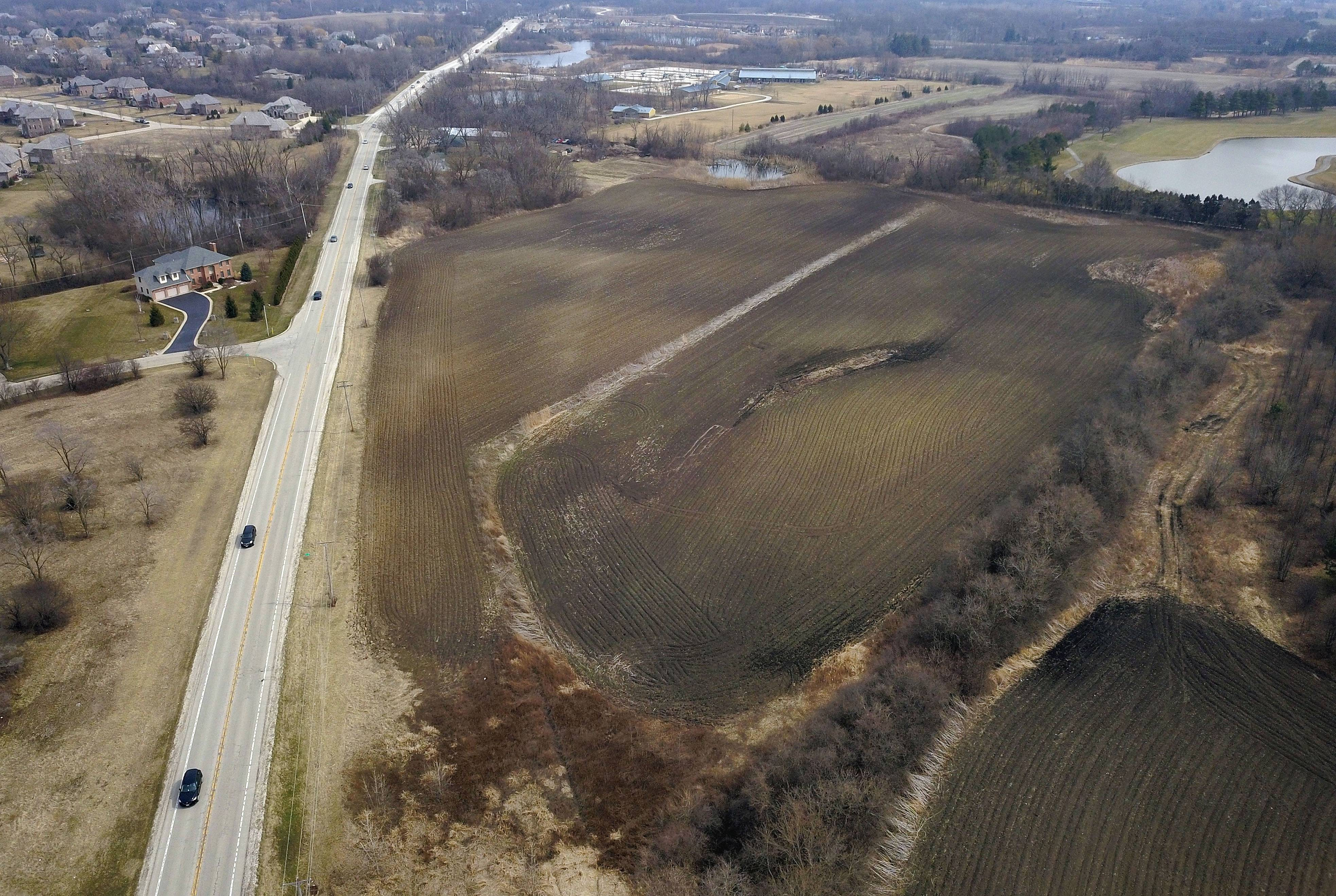 Kildeer's plan commission could issue a recommendation May 8 on a developer's proposal to build homes on this land near Old McHenry Road and Route 22.