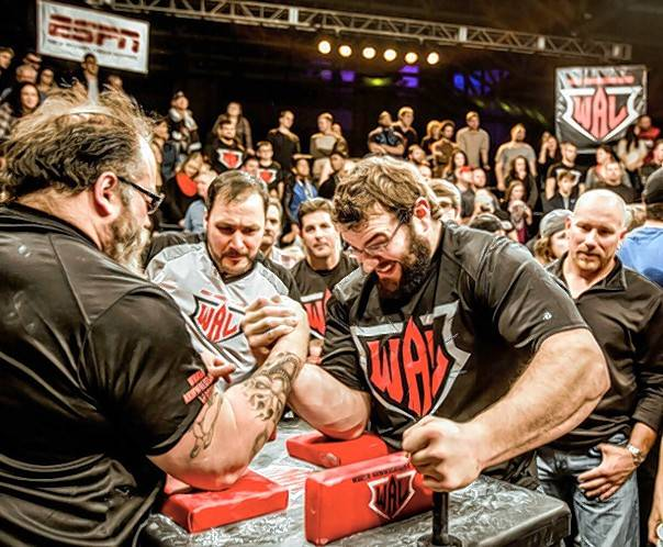 The World Armwrestling League stops in Rosemont on Thursday for a Supermatch Showdown featuring 12 competitors in six matches at Joe's Live.
