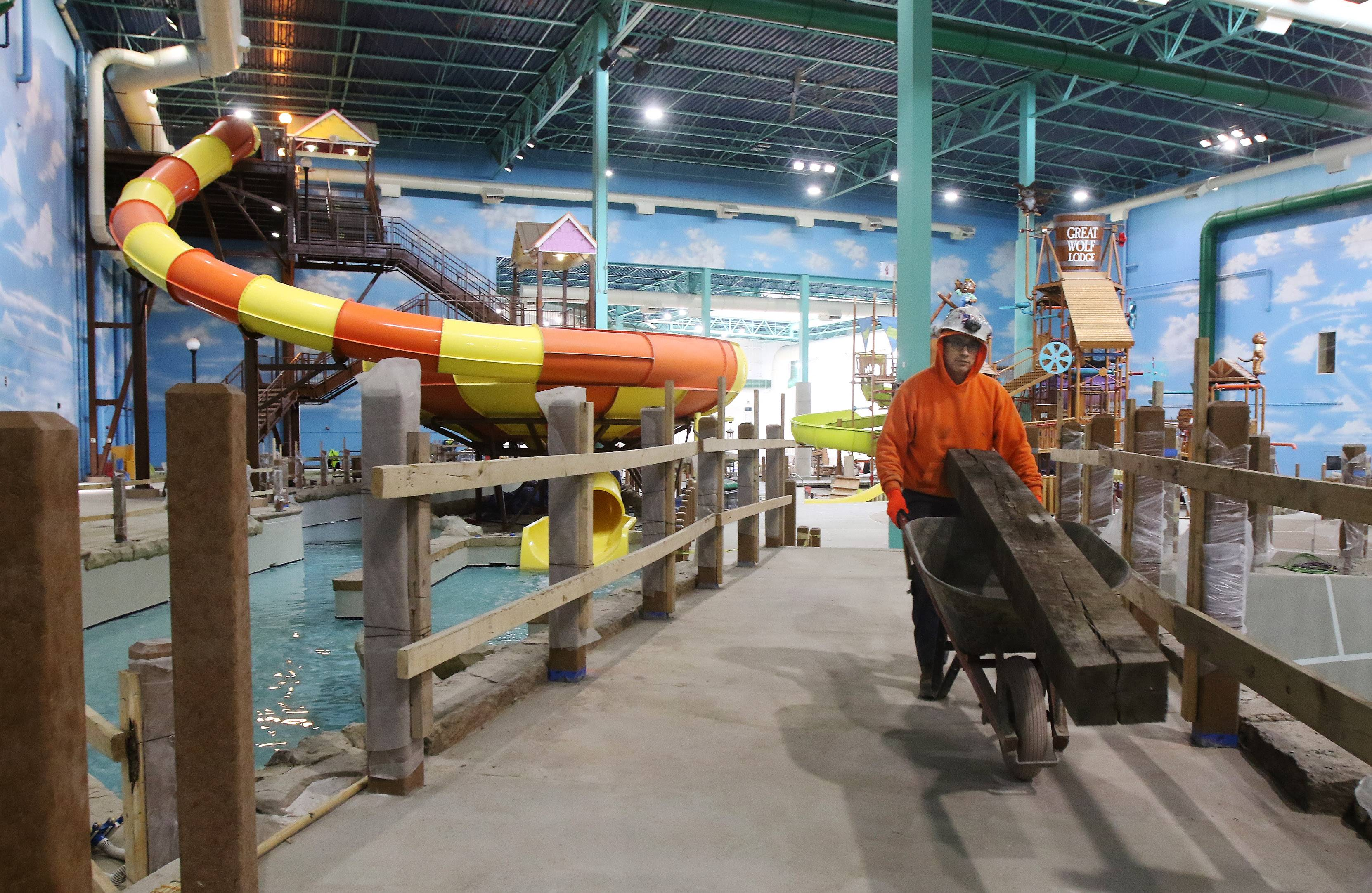 Bigger Water Park Ropes Course Among New Features At