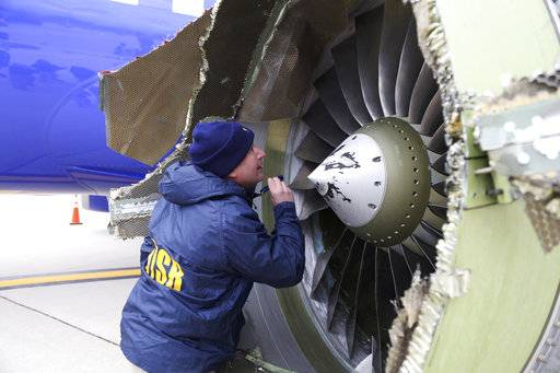 The Latest: Southwest pilots: 'Our hearts are heavy'