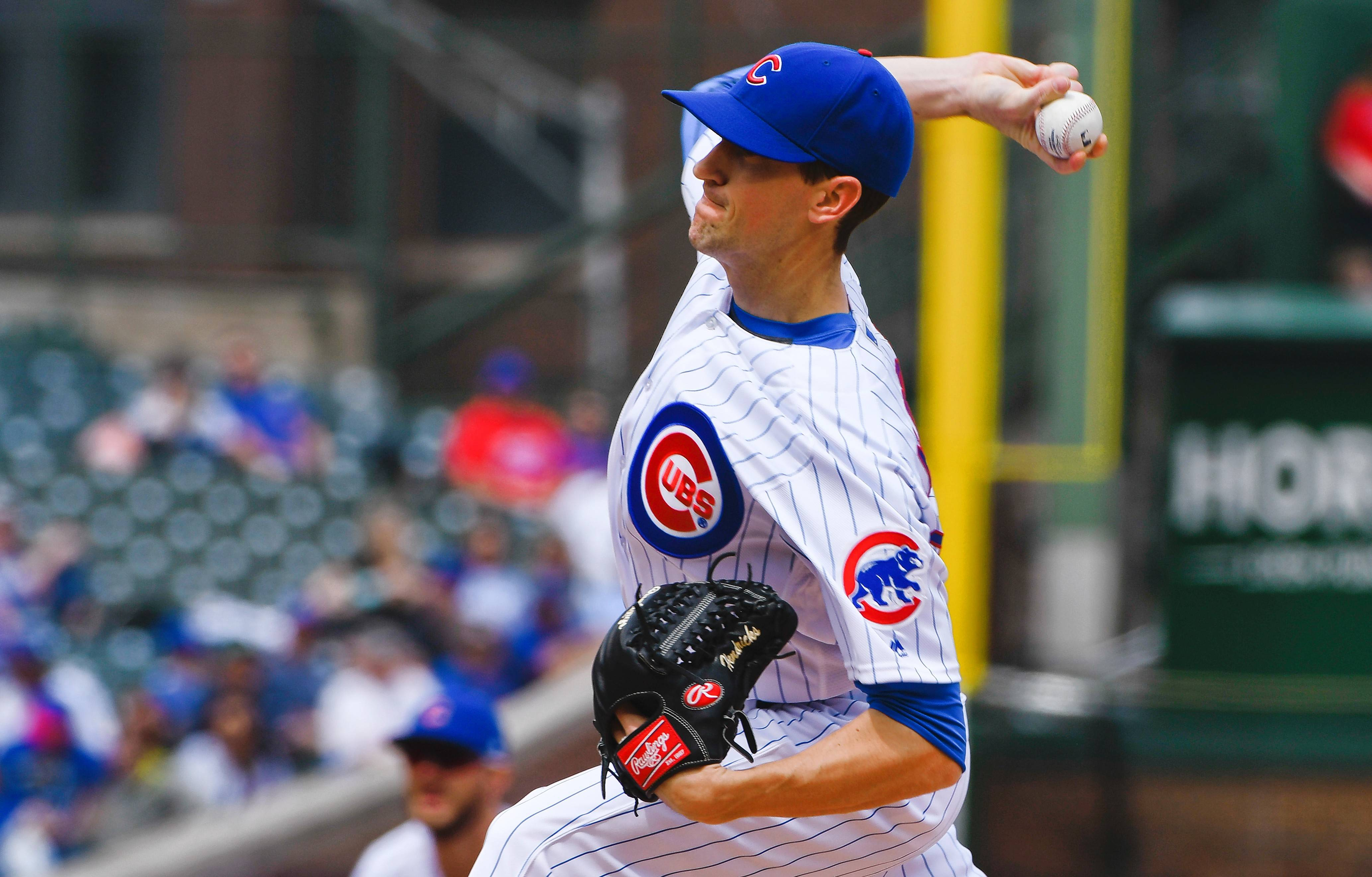 It's been awhile since Kyle Hendricks has pitched, but he'll get the ball in Friday night's series opener in Denver.