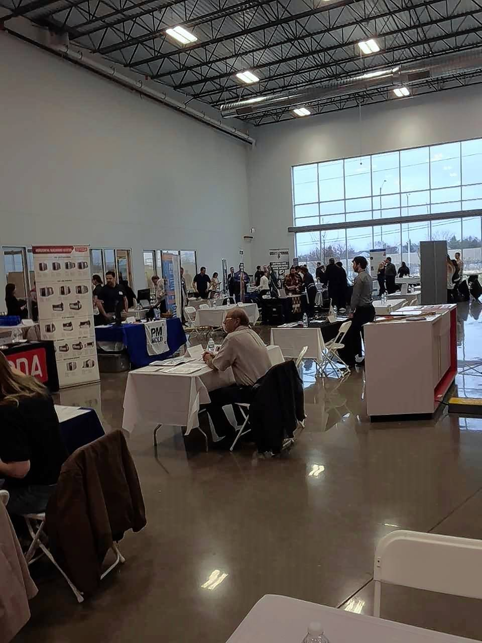 MC Machinery in Elk Grove holds high school career fair