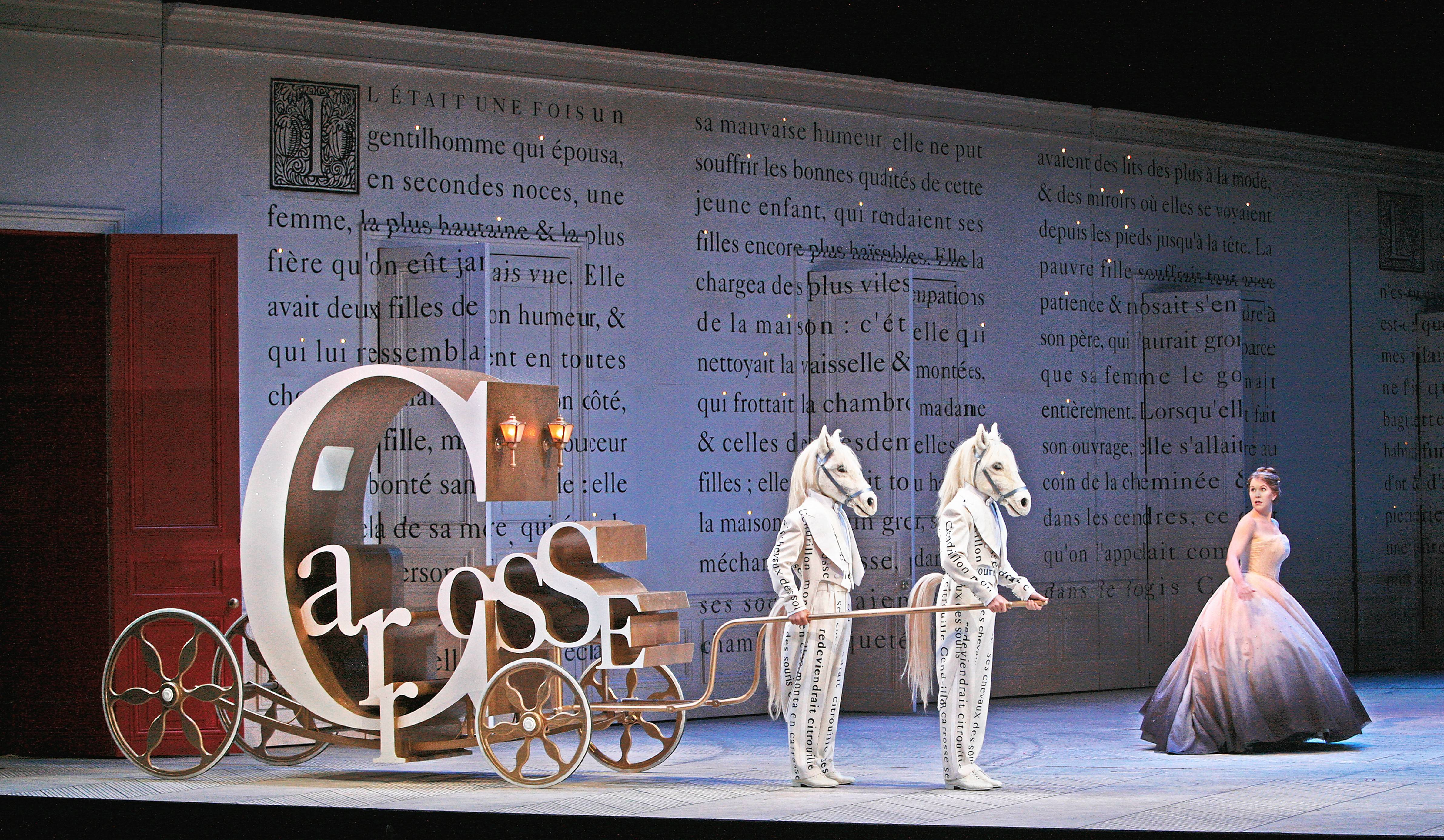 "Jules Massenet's 1899 French adaptation of ""Cinderella"" (""Cendrillon"") will make its Lyric Opera of Chicago debut in December. Director and designer Laurent Pelly's 2006 Santa Fe Opera production is now playing in New York at The Met, and can be seen at suburban movie theaters next weekend."