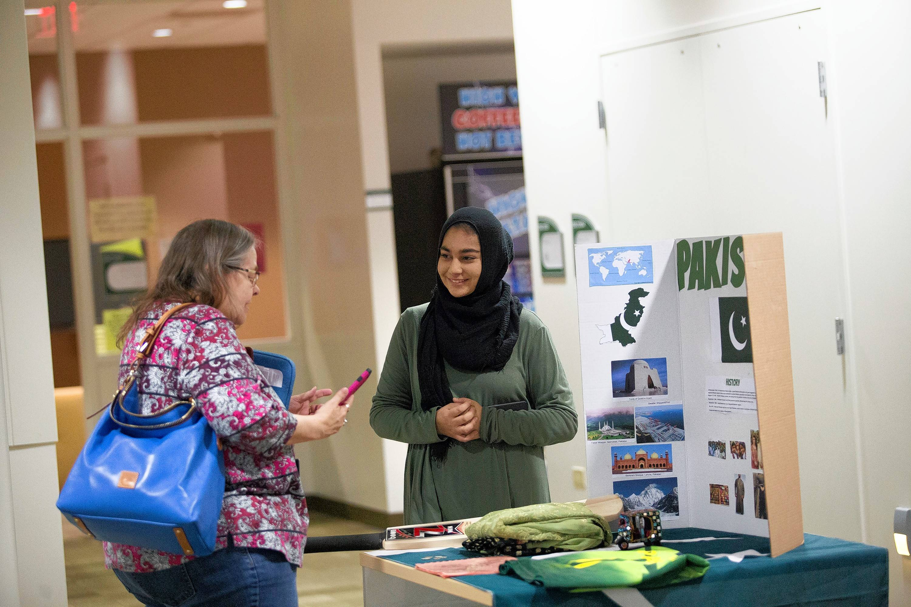 College of DuPage Muslim Students' Association recently held several events designed to educate their peers on the vibrant Islamic culture.