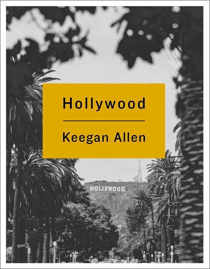 "Keegan Allen recently released the photography book ""Hollywood."""
