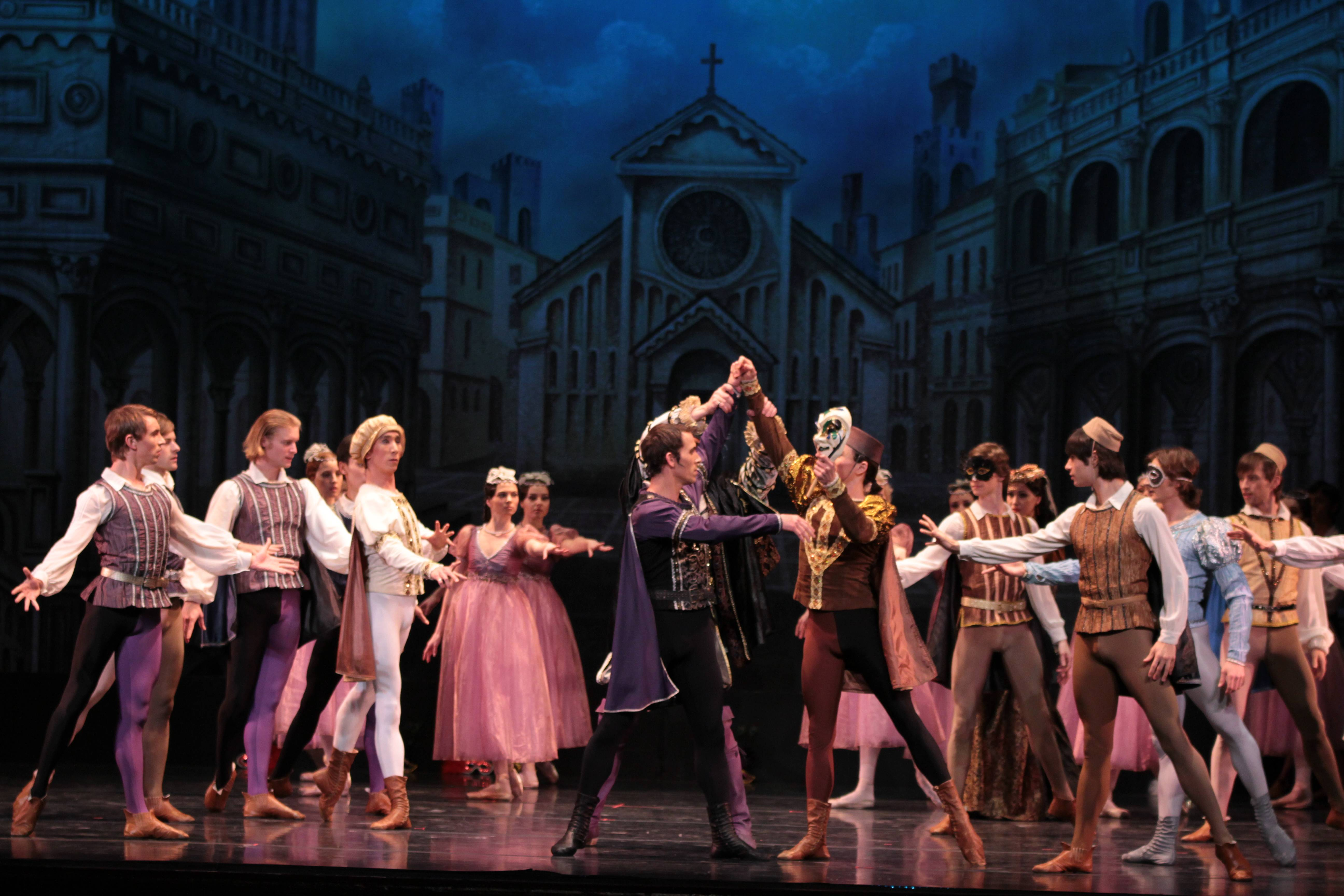 """Romeo and Juliet,"" ""Carmen Suite"" and ""Chopiniana"" will be presented by the Russian National Ballet Theatre at 8 p.m. on Saturday, May 5 at Pfeiffer Hall in Naperville. Courtesy of the Russian National Ballet Theatre"