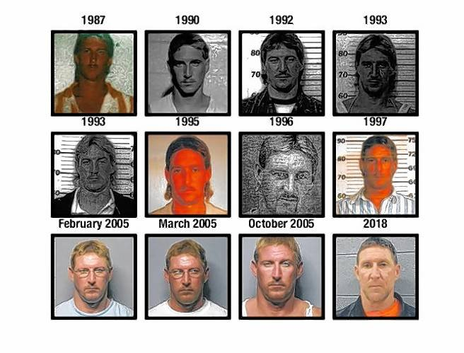 Christopher Clingingsmith has numerous DUI convictions going back to 1987.