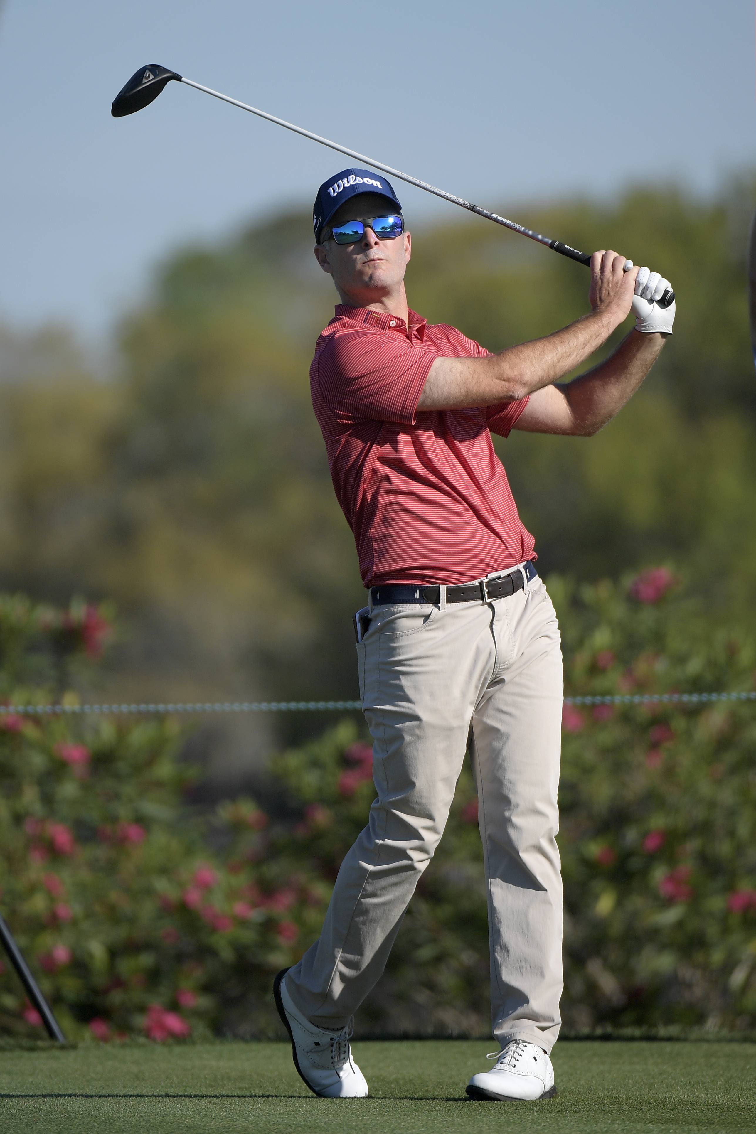 Kevin Streelman of Wheaton, shown here during the third round of the Arnold Palmer Invitational last month, ranks 16th in driving accuracy on the PGA Tour this season.
