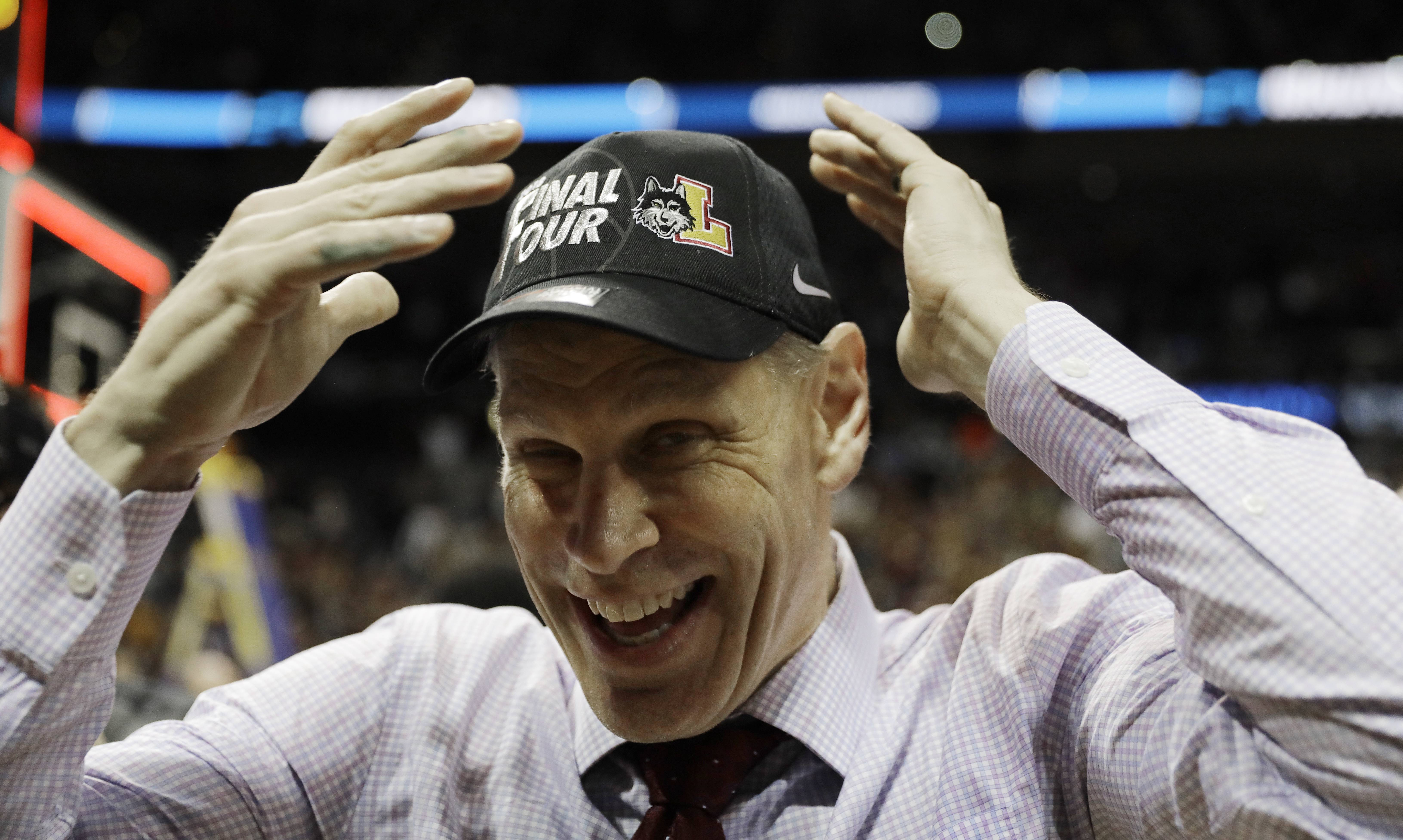 Loyola men's basketball coach Porter Moser, a Naperville native, has signed a new contract that runs through the 2025-26 season. The Ramblers reached the NCAA Final Four with a school record 32 wins last season.