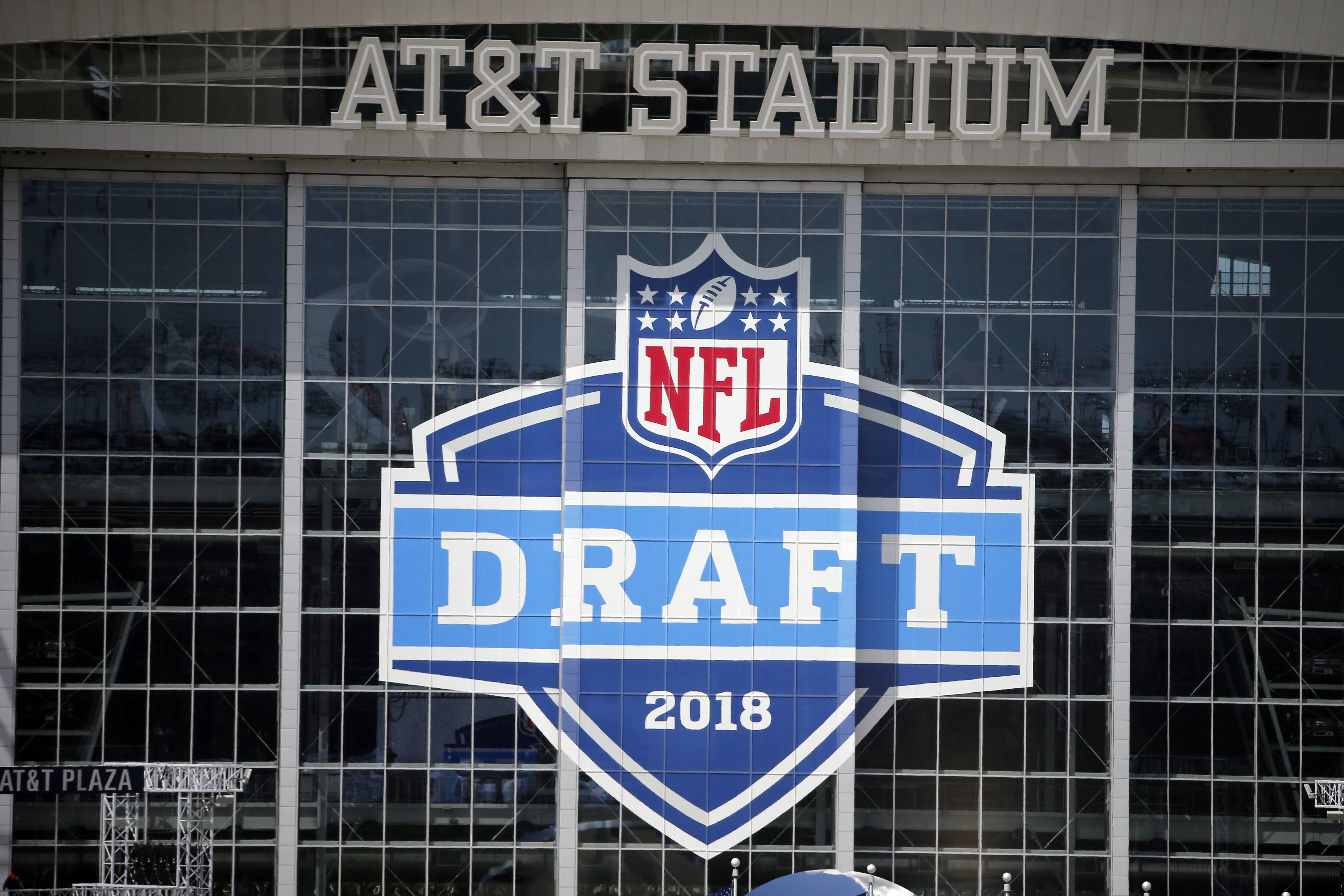 AT&T Stadium will host the NFL draft this week.
