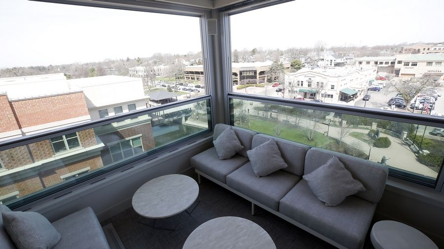 Santo Cielo will offer great views of downtown Naperville from the fifth floor of the Hotel Indigo.