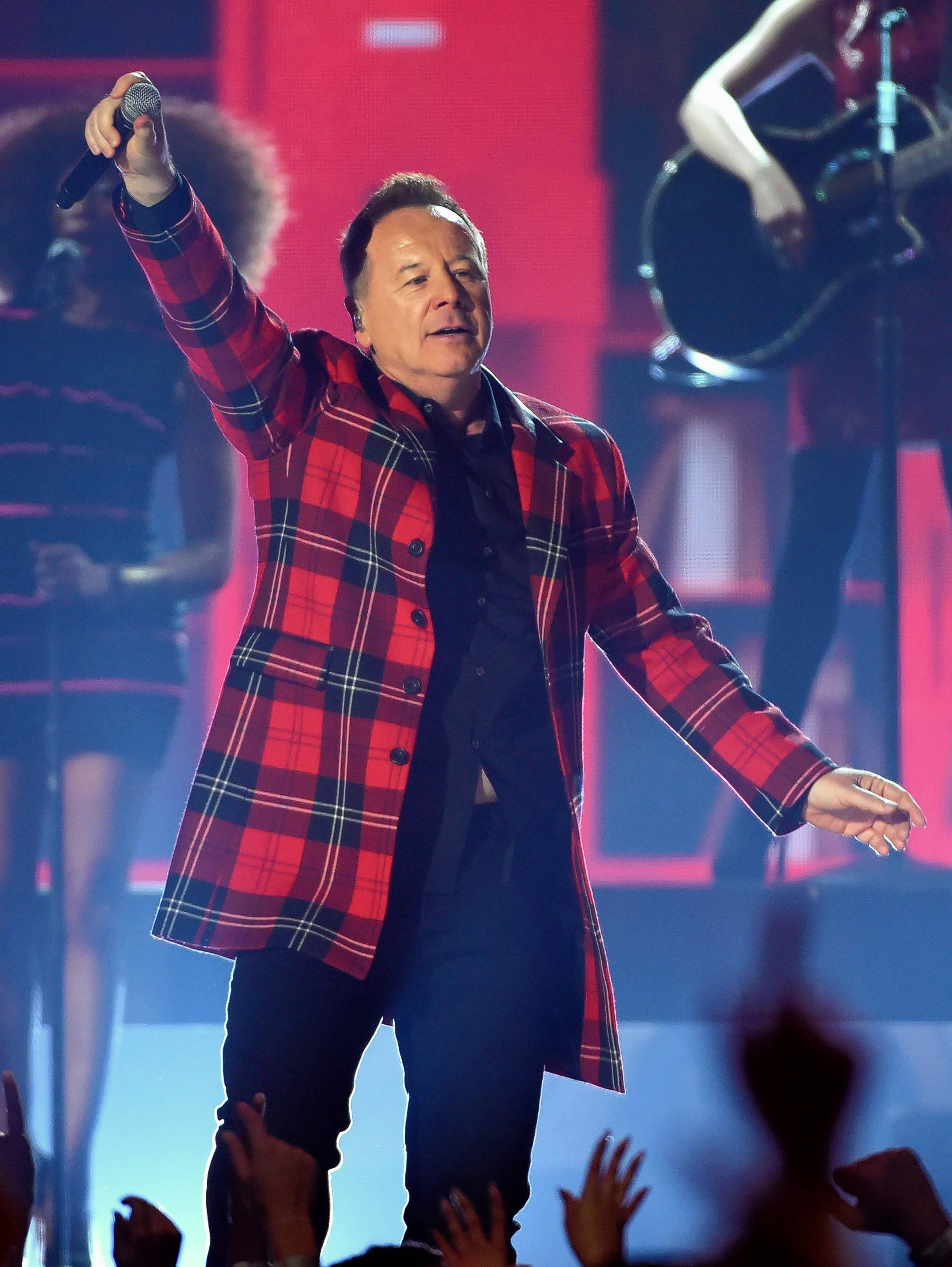 "James Kerr of Simple Minds, which brings the ""Walk Between Worlds Tour"" to the Chicago Theatre on Monday, Oct. 15."