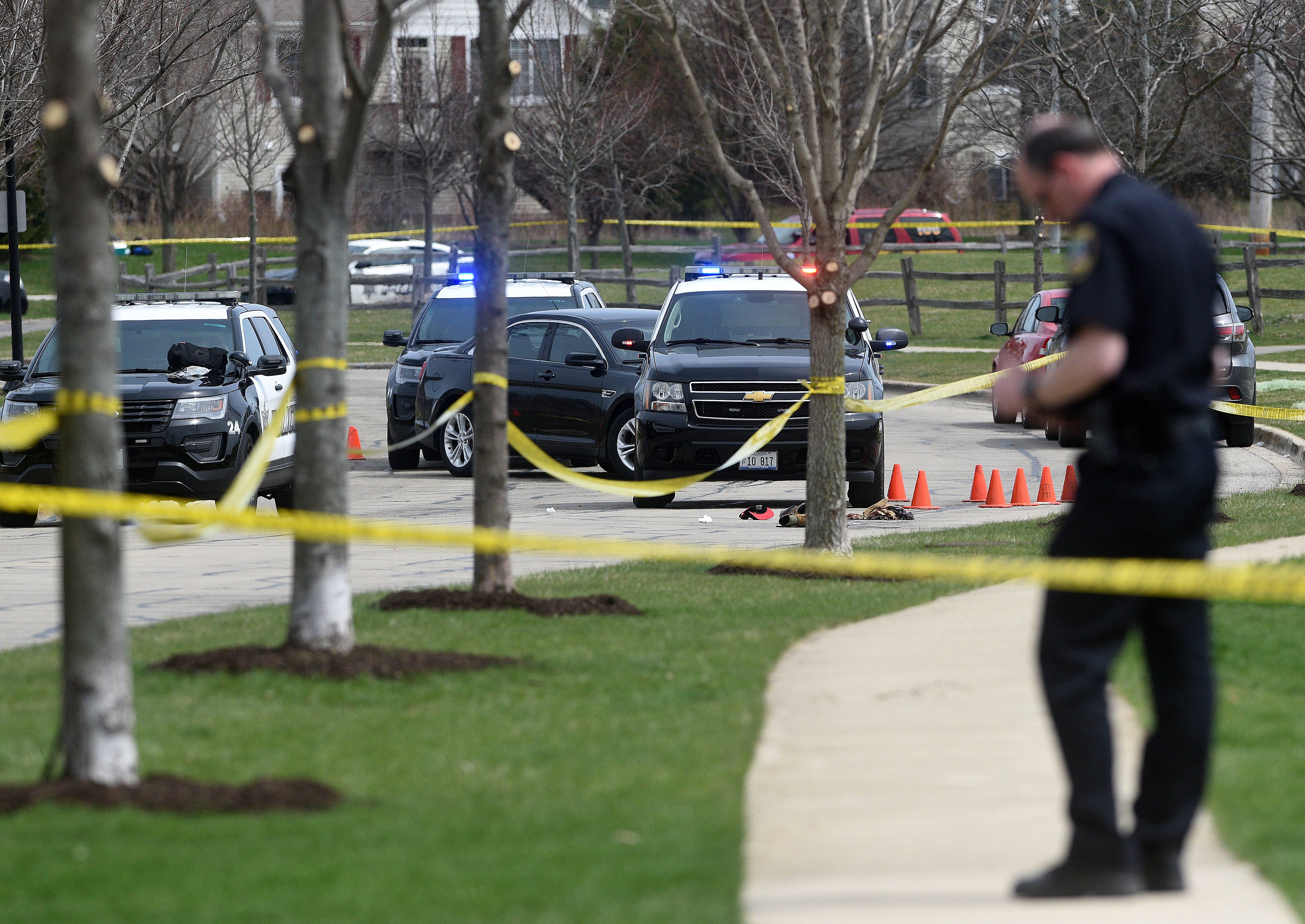 A man armed with a handgun was shot by St. Charles police Thursday near Peck Road and Voltaire Lane, officials said.