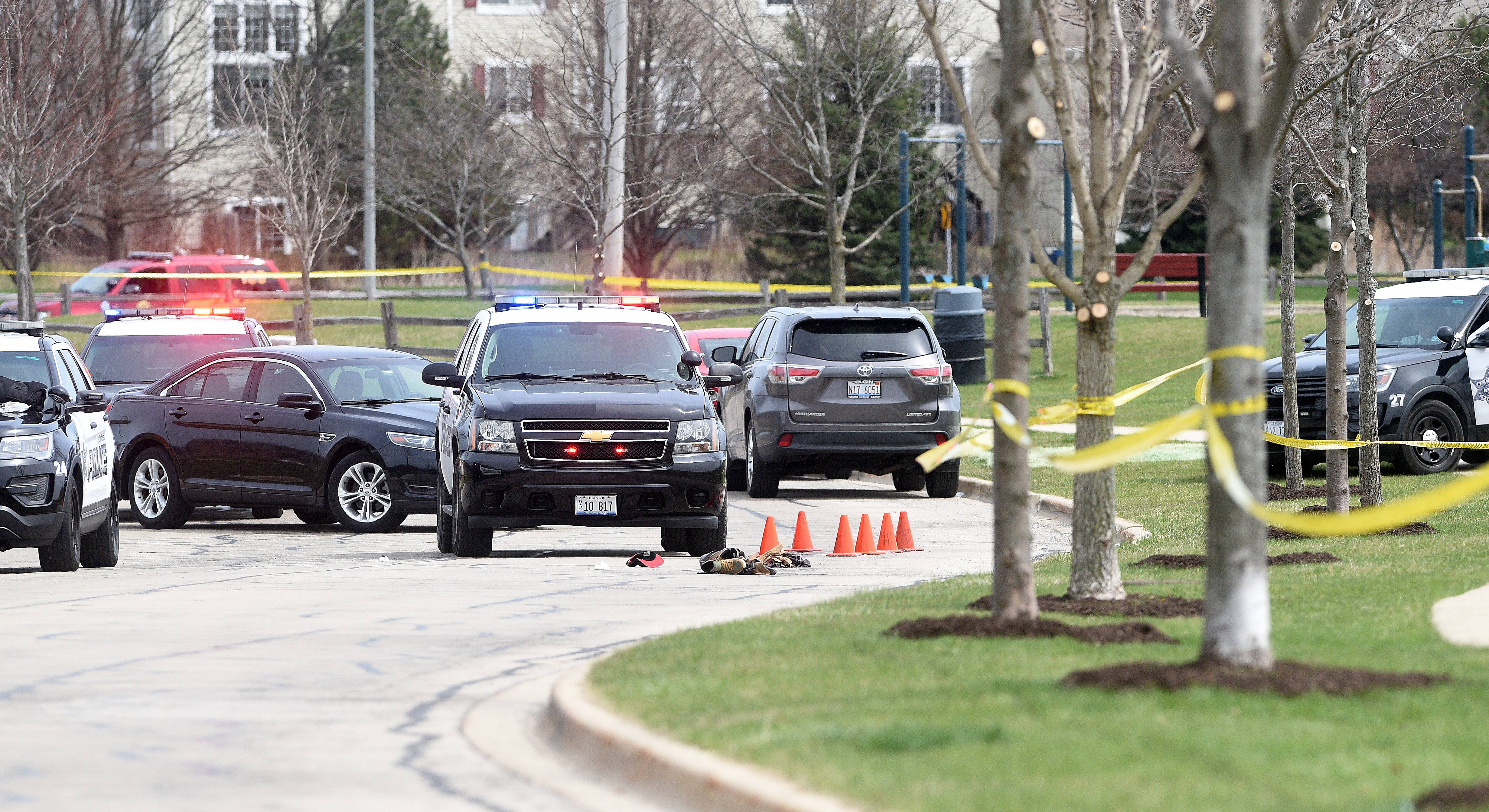 St. Charles police shot and injured a man armed with a handgun Thursday in St. Charles, authorities said.