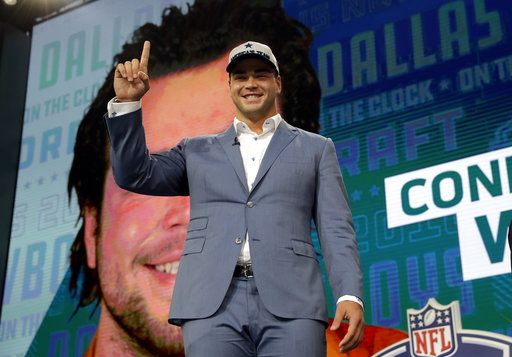 Cowboys draft Texas T Connor Williams WR Michael Gallup