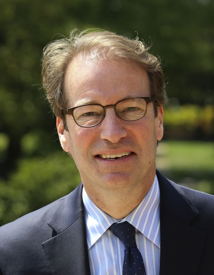 U.S. Rep. Peter Roskam of Wheaton has represented the 6th District since 2007. Now he's squaring off Nov. 6 against Democratic challenger Sean Casten.