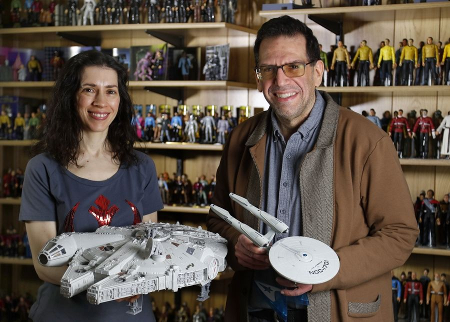 "Maria Jose Tenuto and her husband, John, are considered two of the biggest experts on toys in the country. In December, the Gurnee residents' ""Star Wars"" toy collection was featured on an episode of ""The Toys That Made Us,"" a Netflix documentary series."