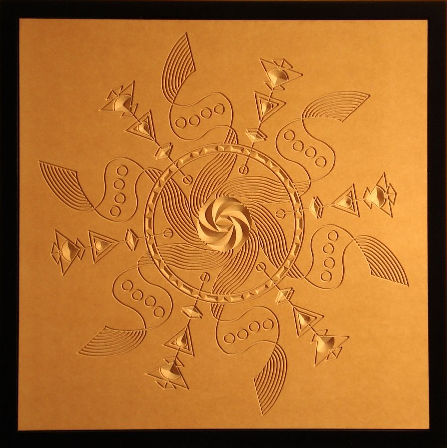 """Maelstrom,"" one of Artist Dean Caminiti's wood reliefs, will be among the pieces exhibited at the Northwest Cultural Council's Spring Art Show running through Saturday, July 7 at Arlington Green Executive Center, 2101 S. Arlington Heights Road, Arlington Heights."