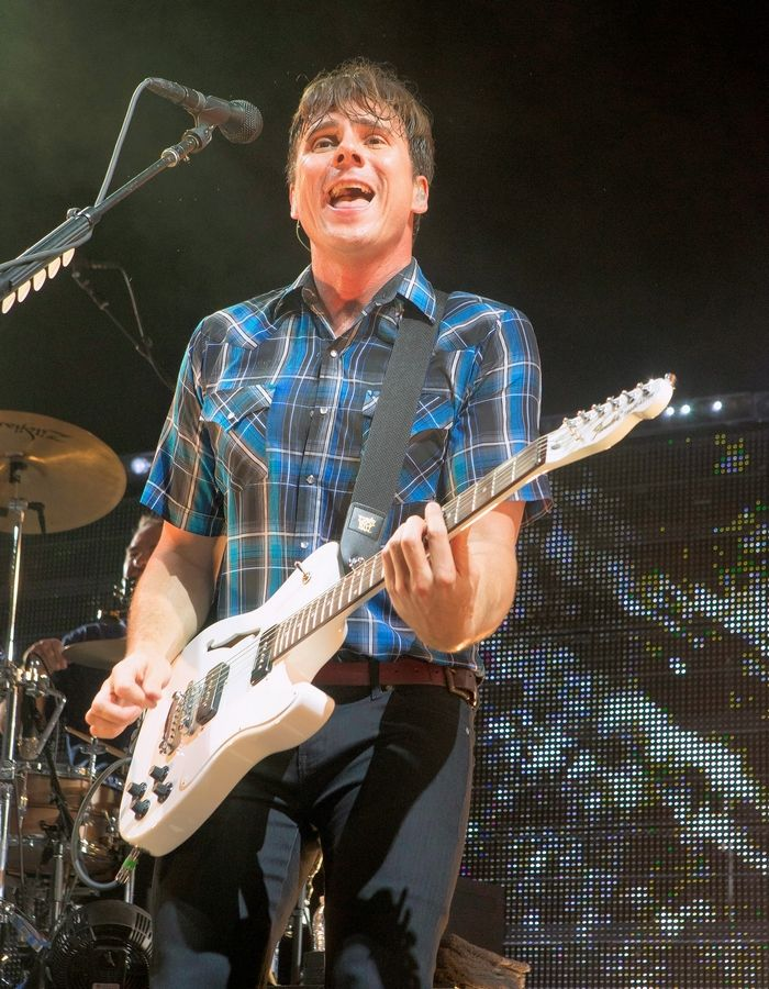 Jim Adkins and Jimmy Eat World head to Chicago's Riviera Theatre Tuesday, May 8.
