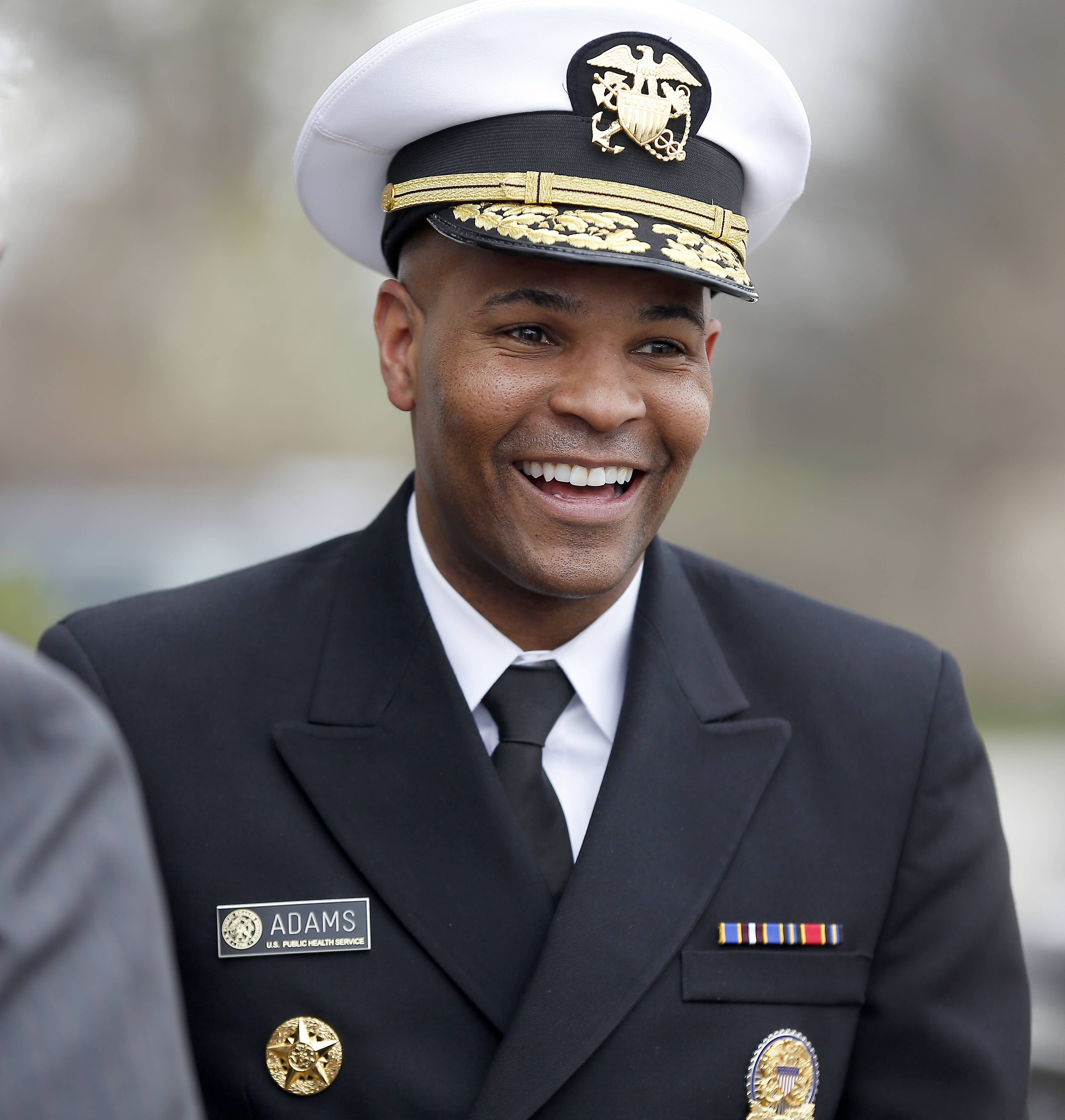 Surgeon General Dr. Jerome Adams says he issued an advisory to emphasize the importance of the opioid overdose reversal drug naloxone