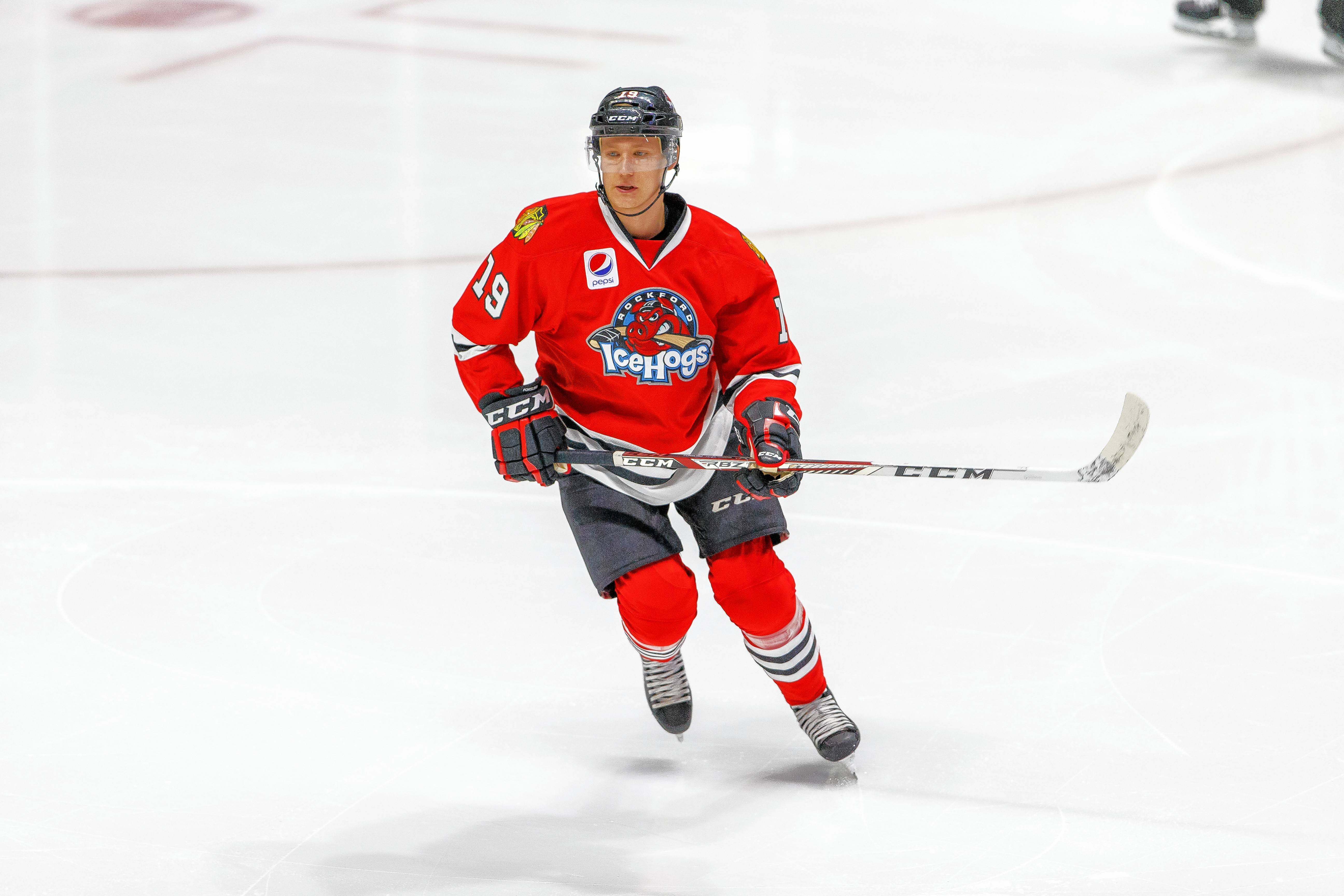 Blackhawks still have faith in young defenseman Forsling