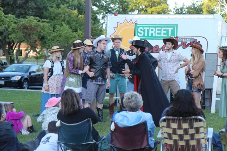 Street Theatre auditions take place noon to 3 p.m., May 5 and 6 at the CRC. Schaumburg Park District