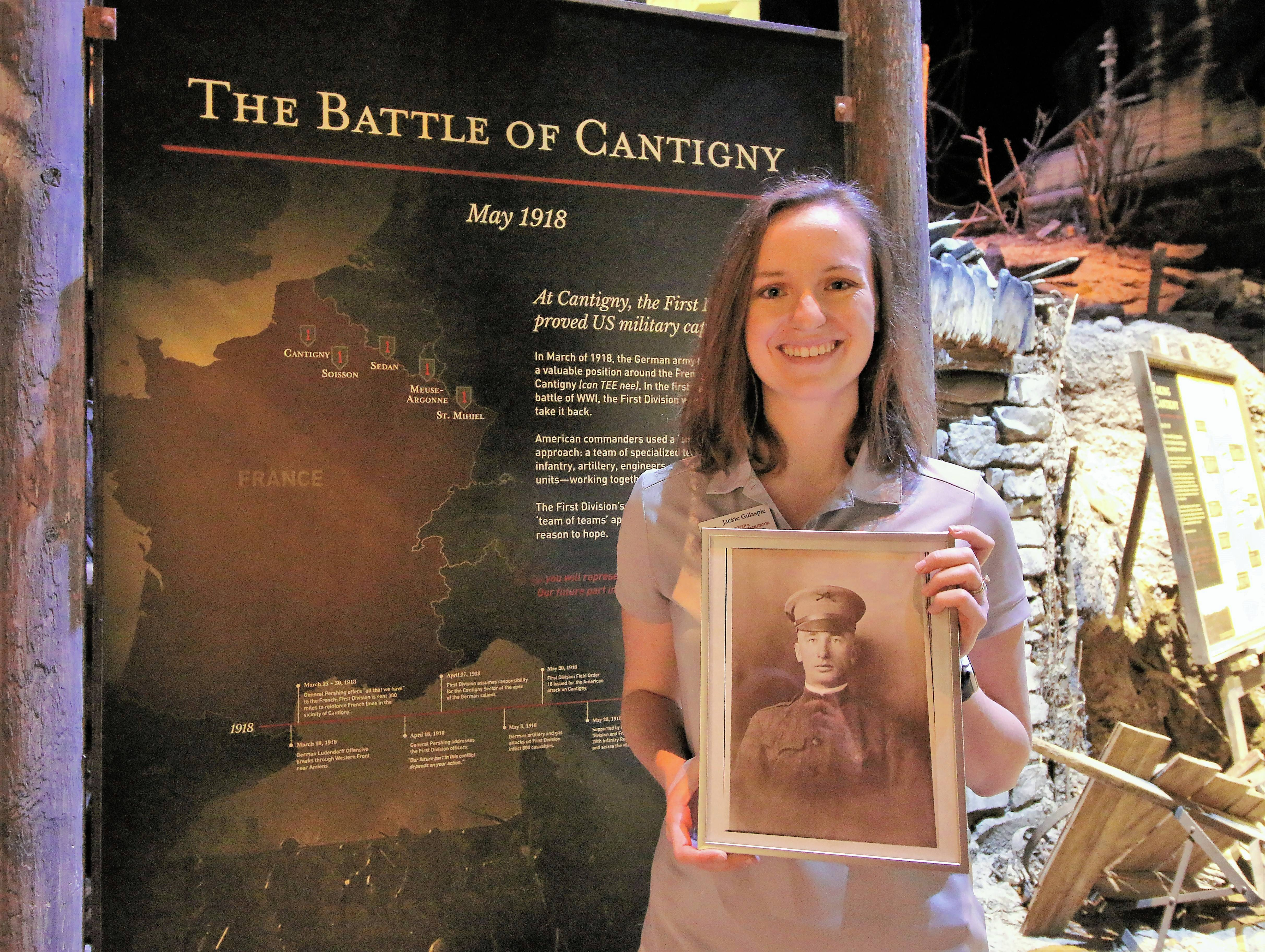 Cantigny volunteer discovers piece of family history