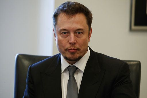 "FILE - In this Dec. 14, 2016, file photo, Tesla CEO Elon Musk listens as President-elect Donald Trump speaks during a meeting with technology industry leaders at Trump Tower in New York.   Musk, who's been known for his quirky behavior, came under scrutiny after the conference call for Tesla's quarterly earnings Wednesday, May 2, 2018 went awry.  He was criticized for cutting off two analysts that asked about the electric vehicle and solar panel company's cash needs and orders for its Model-3. Musk called the questions ""dry� and ""not cool.�"