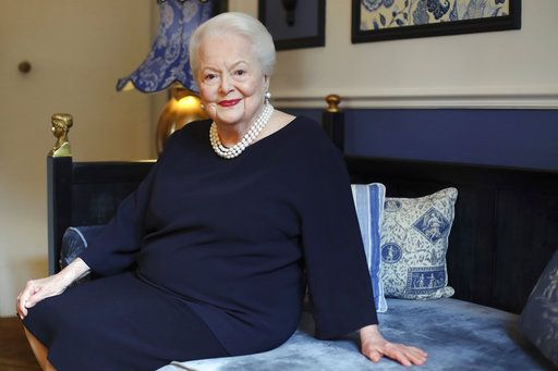 "FILE - In this June 18, 2016 file photo, U.S. actress Olivia de Havilland poses during an Associated Press interview, in Paris. De Havilland has asked the California Supreme Court to revive her lawsuit against the FX Networks show ""Feud: Bette and Joan.�  Lawyers for the 101-year-old actress filed the appeal Friday, May 4, 2018, asking the court to reverse an appeals court decision in March that threw out the suit."