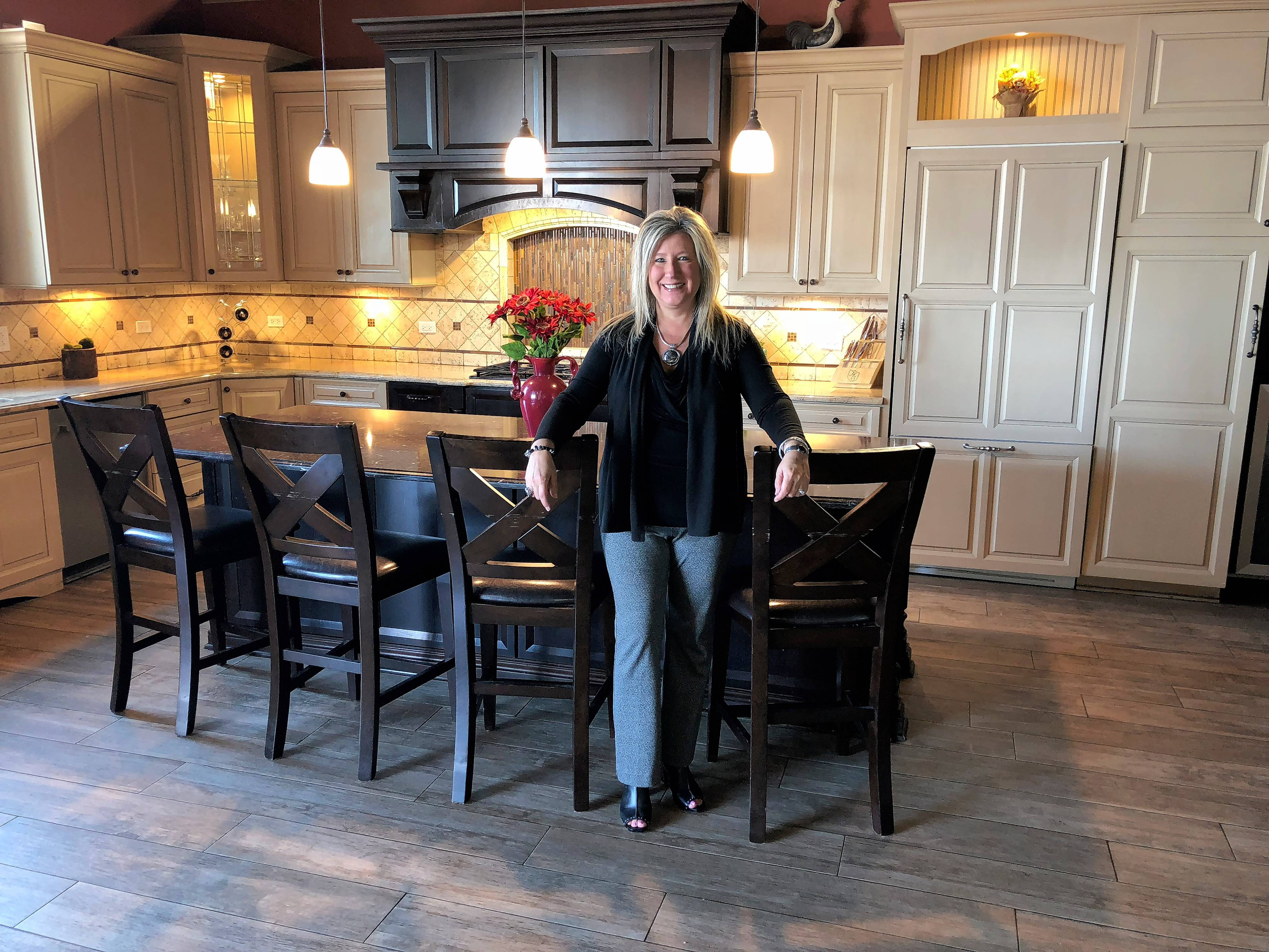Tara Soderstrom, marketing and client relations manager for DESIGNfirst Builders, says about 40 percent of the jobs the company completes are kitchen renovations.