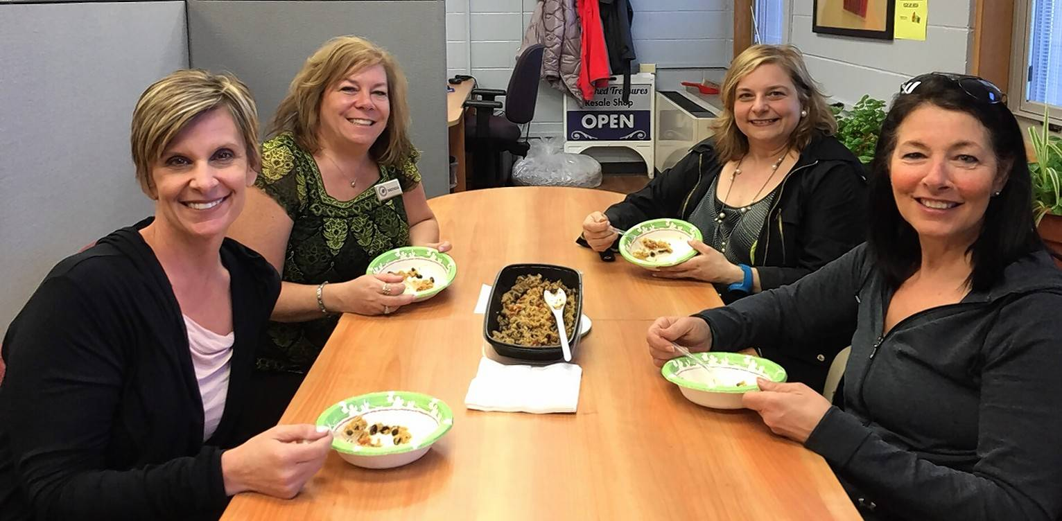 Classes help At Work participants learn about healthy eating