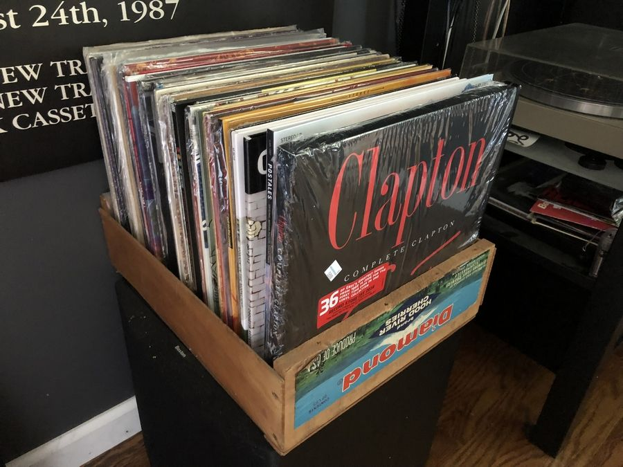 A portion of the proceeds from a vinyl record garage sale Saturday, May 19, in Libertyville will benefit the local food pantry.