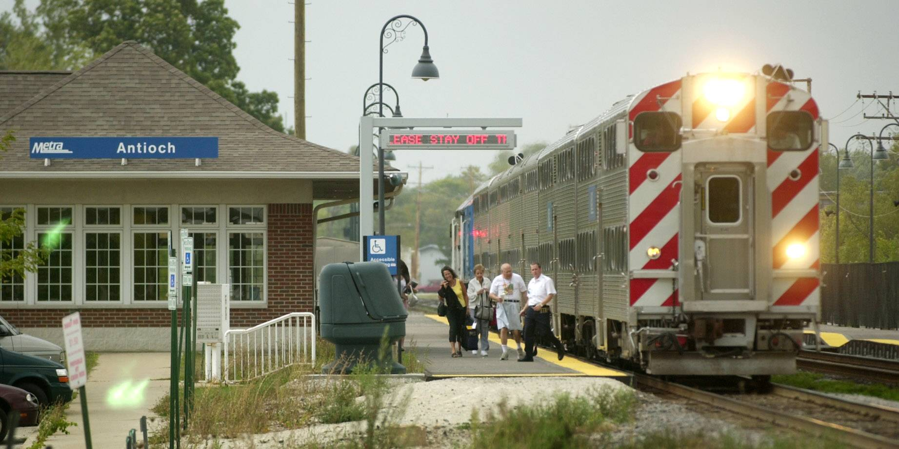 Some riders getting a break in Metra's new fare structure