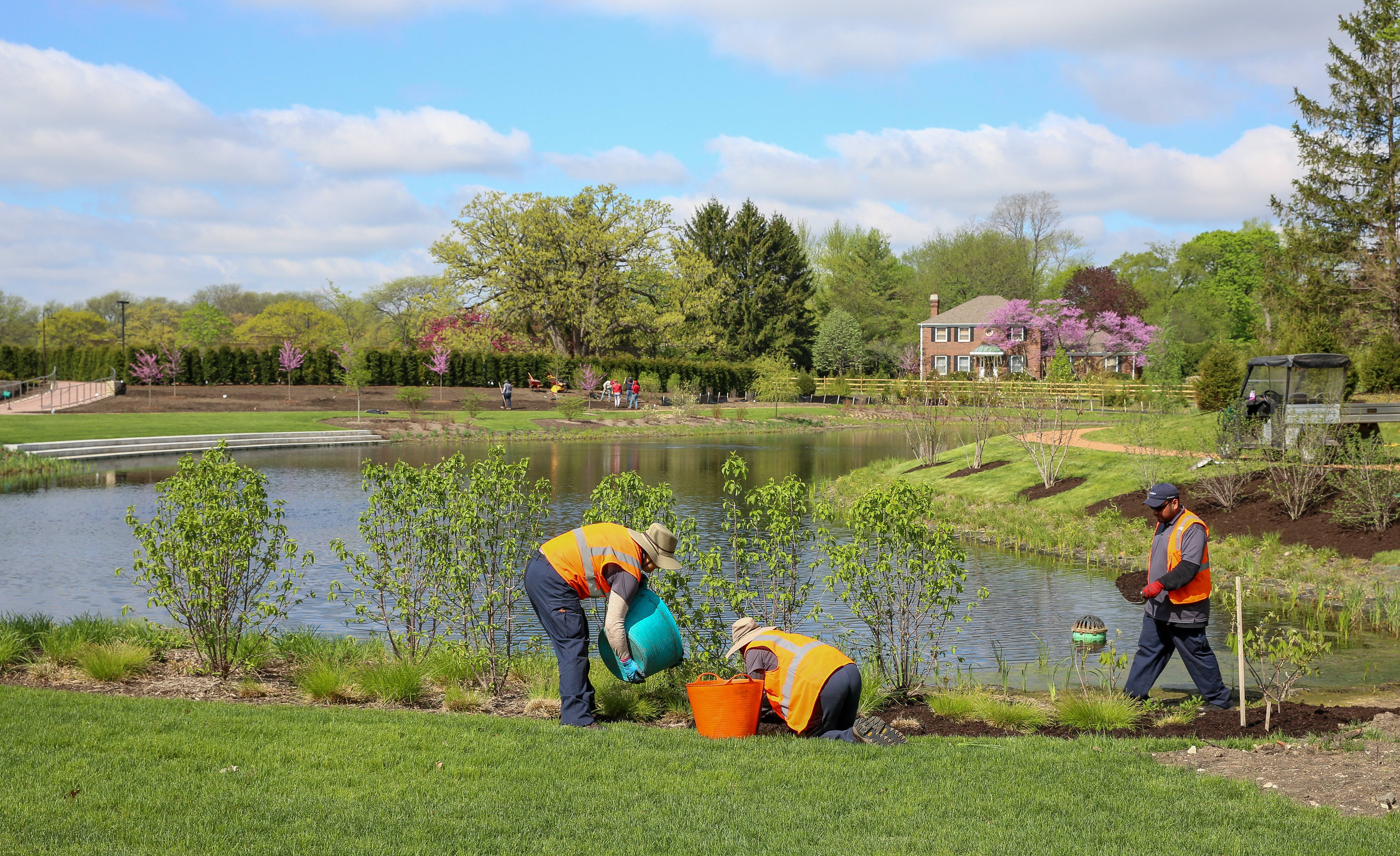 First stage of Cantigny Park redesign enters the homestretch this summer
