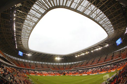 World Cup Saransk Known For Depardieu And Odd Architecture