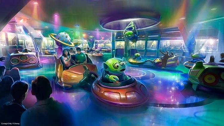 Here S A Sneak Peek At Disney World S New Toy Story Land