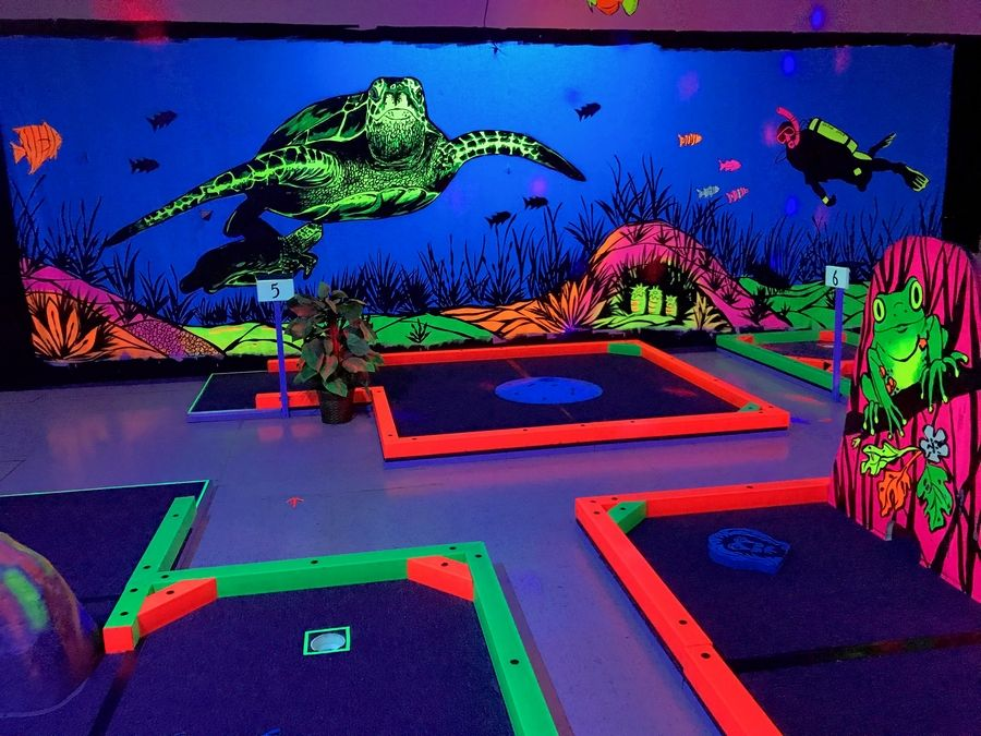 Glowgolf is returning to Hawthorn Mall in Vernon Hills after a five-year absence. It will open on the upper level in the former Charming Charlie's location.