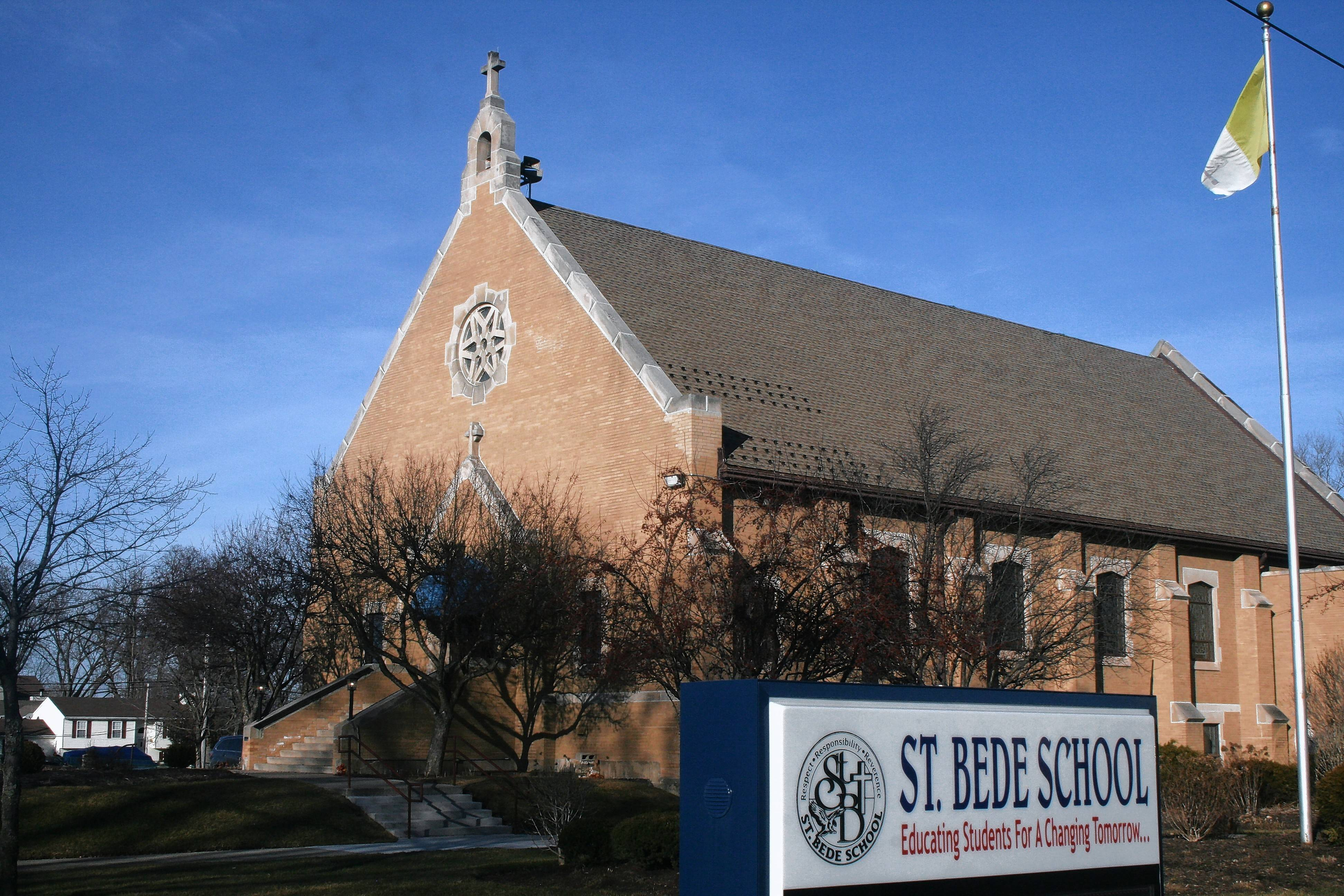 "St. Bede Catholic Church and school in Ingleside will be united with an Antioch parish and renamed ""Our Lady of the Lakes Parish."""