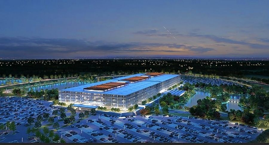 Bell Works in Holmdel, New Jersey -- a redevelopment of the former 2-million-square-foot Bell Labs building -- is the basis for Somerset Development's plan for the former AT&T campus in Hoffman Estates.