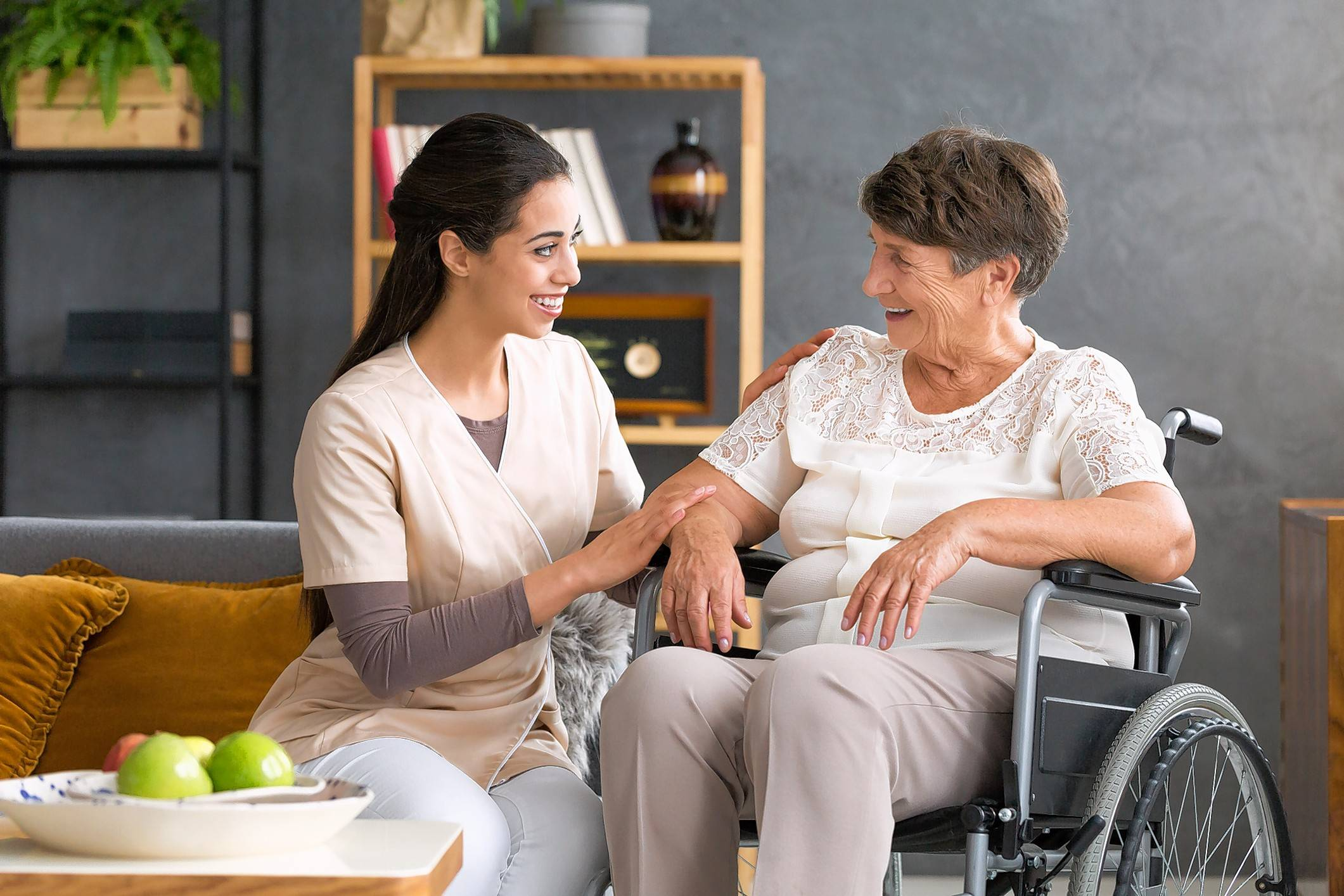 Older adults who may need help with daily living would benefit by living in an assisted living community, where they can get the help they need and still live as independently as possible.