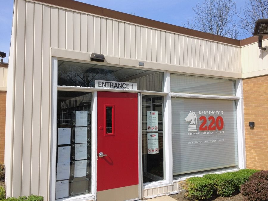 Barrington Area Unit District 220 officials are moving their headquarters from this James Street location to the former PepsiCo Gatorade offices across from Barrington High School.
