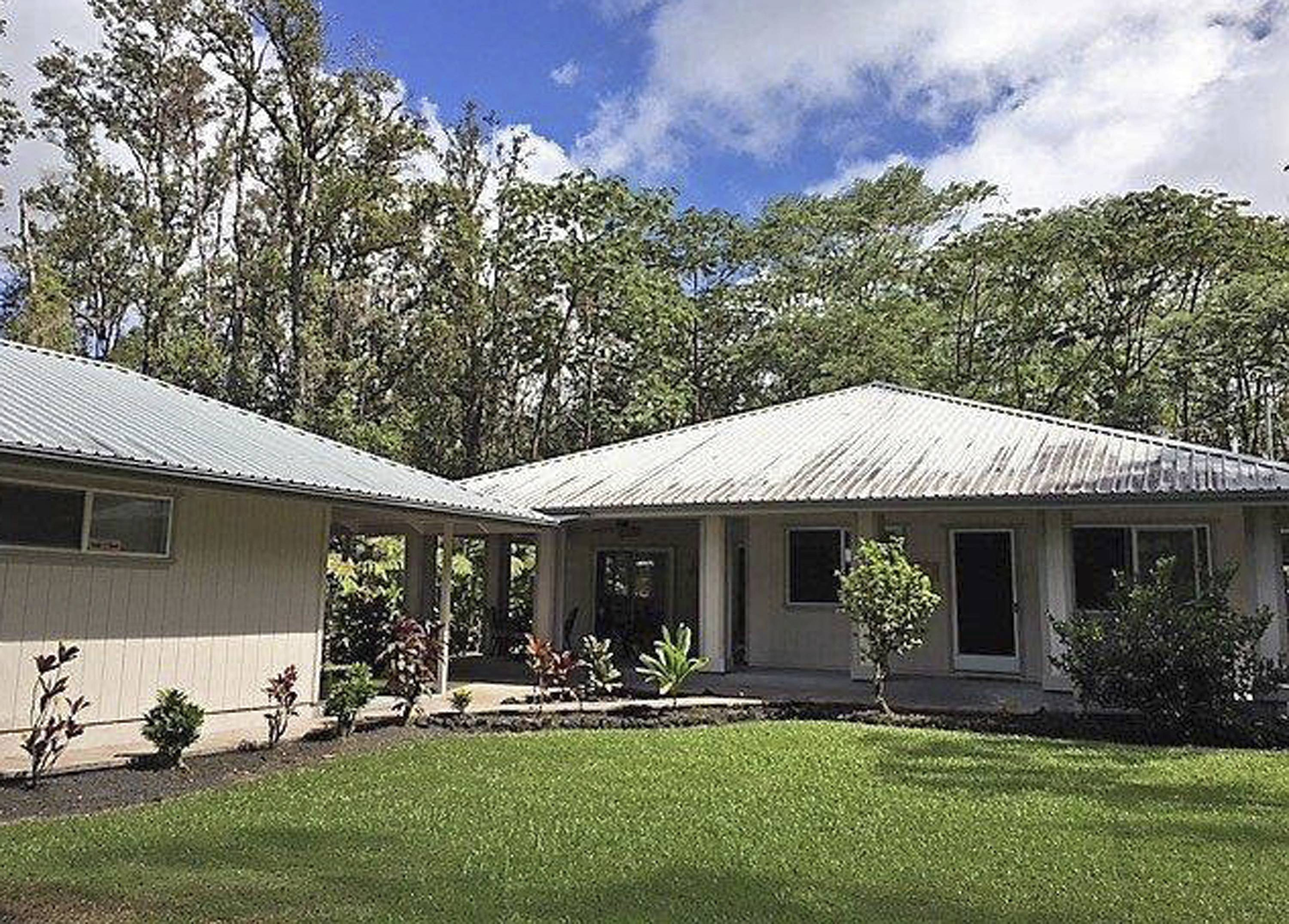 Patricia Deter purchased this home in Leilani Estates near the town of Pahoa on the island of Hawaii.