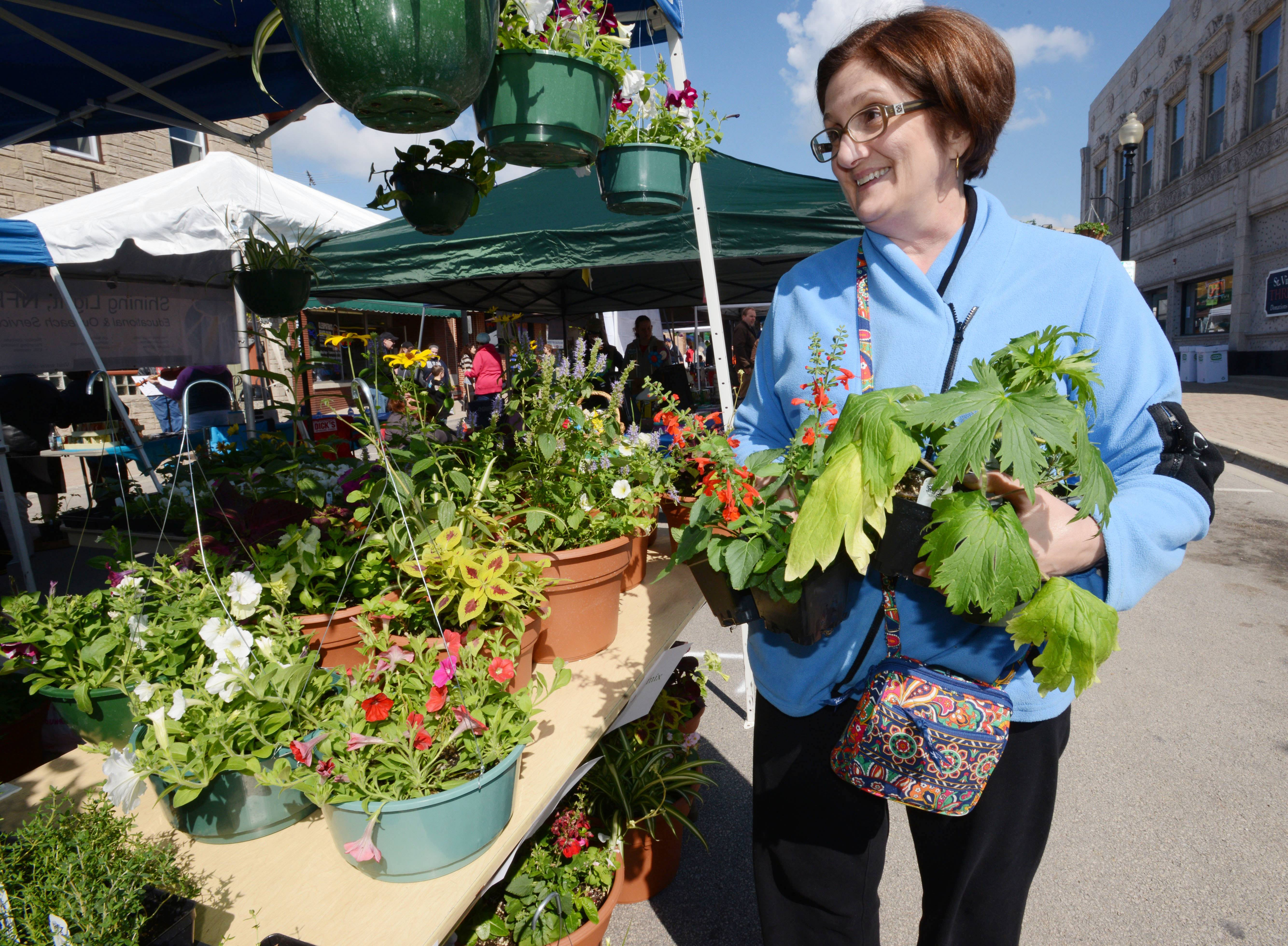 West Chicago's Blooming Fest 2018 returns to downtown from 9 a.m. to 3 p.m. Saturday with a variety of vendors, activities and plenty of plants.